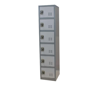Hot sale 6 tier bedroom cupboard style/beach locker cabinet
