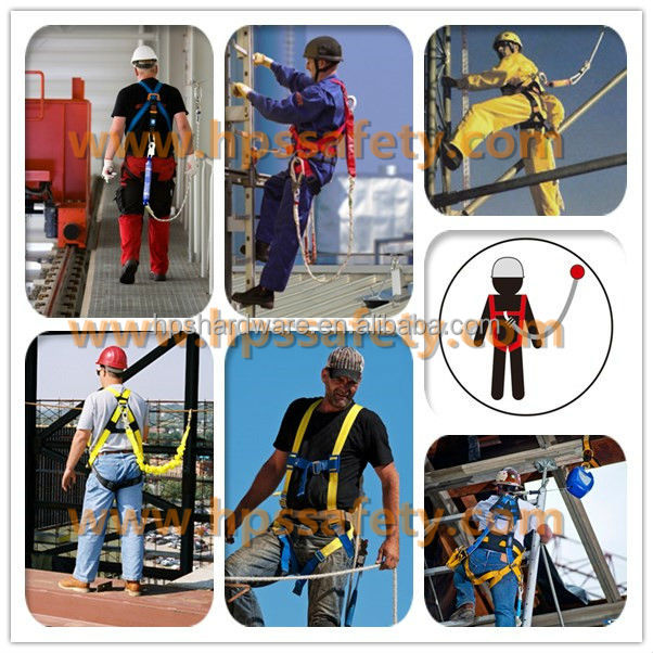 For Working At Heights Full Body En 361 Certified Safety Harness ...
