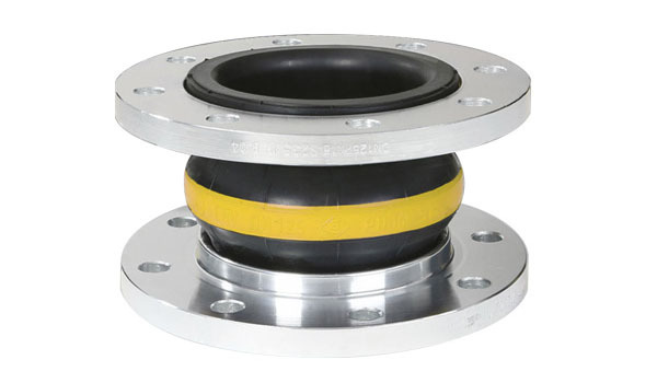 2 Inch Stainless Steel Flange Joint Flexible Rubber