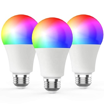 APP WiFi Smart LED Light Bulb Color Dimmable 10W RGB+W E26/27 B22 Lamp For Alexa