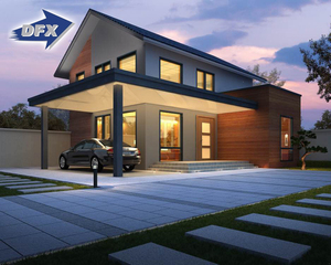 Competitive price luxury prefab light steel villa