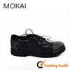 MK141-3 Italian style latest ladies wholesale lace up casual shoes