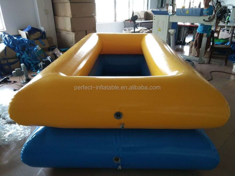 Newly design prefabricated swimming pool with holders in the garden for sale