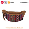 Large Capacity Canvas Leather Waist Bag for Unisex Manufacture in China