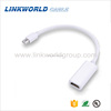 Hot plug 4K*2k mini displayport to hdmi adapter for laptop