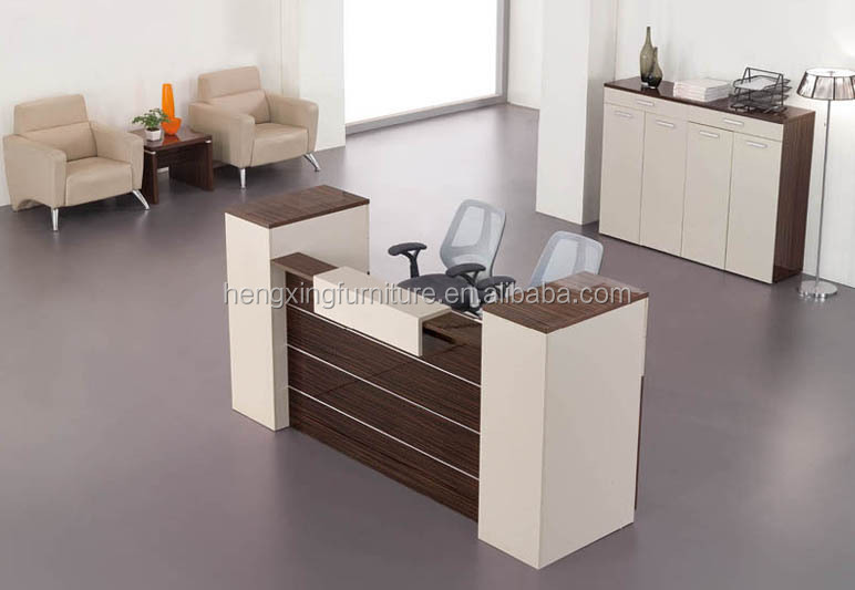 modern reception table design office desk hxrt14005 furniture designs n