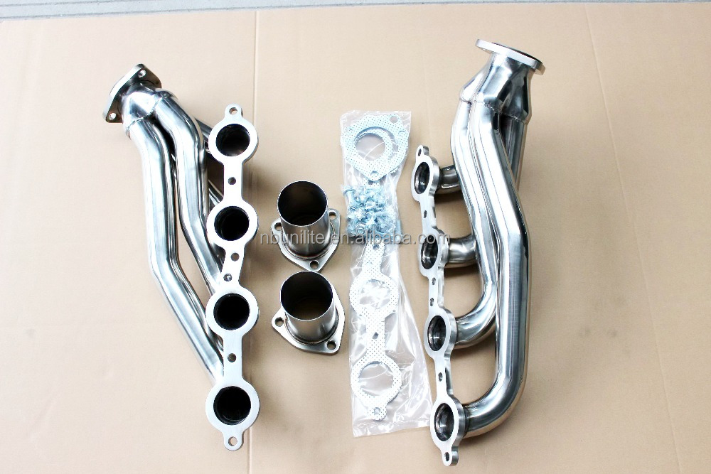 Best Factory Price Stainless Shorty Header Exhaust Manifold for Chevrolet LS1 LS2 LS6 LSX V8 Enigne