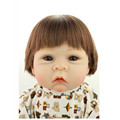 Vivid Silicone Reborn Dolls 50 cm 20 Inches Lifelike Baby Reborn Doll Real Looking Baby Doll