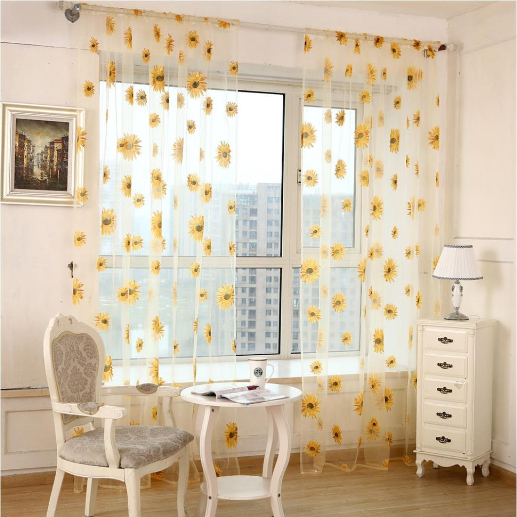 Cheap Yellow Flower Curtains Find Yellow Flower Curtains Deals On