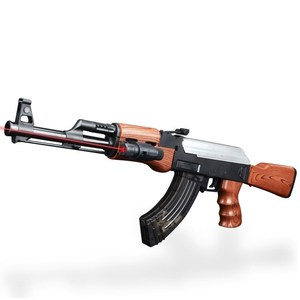 Promotion high quality plastic AK 47 crystal gel soft water bullet toy gun