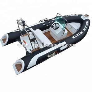 over 20years experience factory hypalon inflatable rib boat with outboard motor