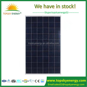 Cheap China poly crystalline PV modules stock wholesale 265w 260w 255w 250w  ReneSola poly solar panel in china