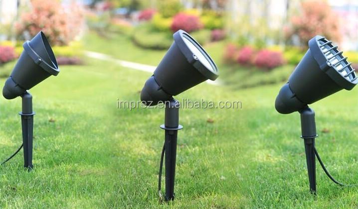 Vendita calda multicolore lampada da giardino led lampadina w