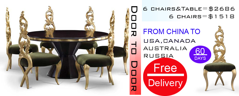 Luxury dining chair, wood chair (PFC8436)