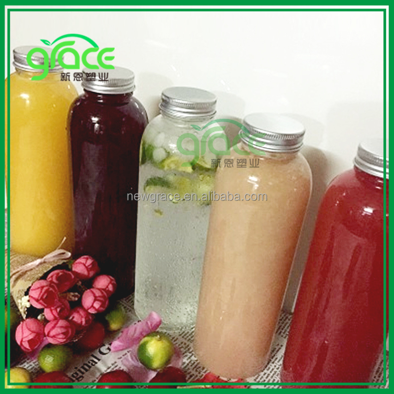 400ml Wholesale price online shopping plastic container pet material transparent plastic juice bottle for energy drink