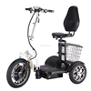ML-301 500W 48V 15ah lithium battery zappy 3 big wheel handicapped electric scooter with removable battery