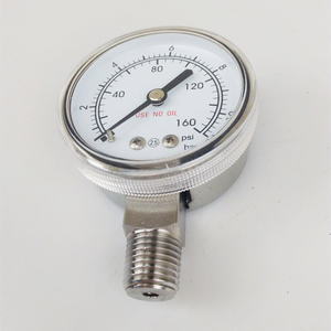 standard gas pressure gauge for gas pressure control systems
