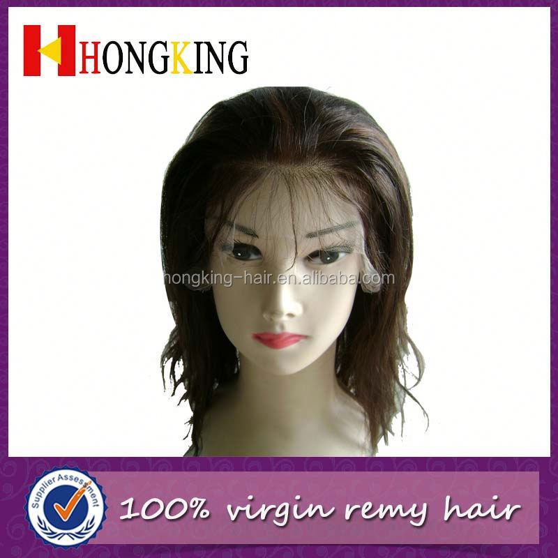 Unique Brazilian Hair Front Lace Wig Made In China