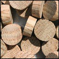 "WIDGETCO 5/8"" Oak Wood Plugs, End Grain"