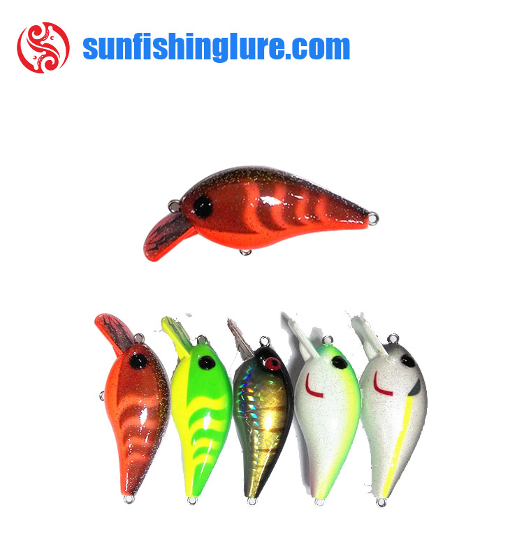 Floating hard plastic fishing lure japan crankbait blank lure
