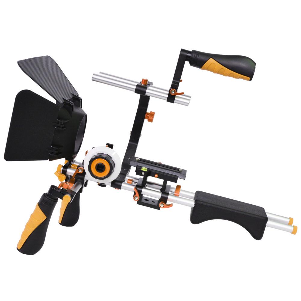 YELANGU Photographic Shoulder RIg Mount Kit for Dslr Camera and DV Camcorder