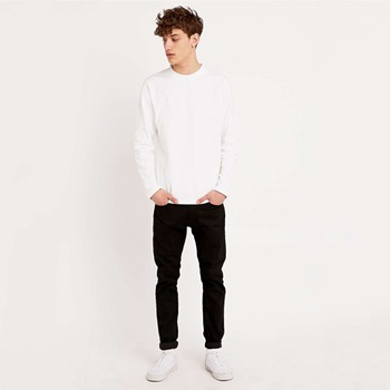 Long Sleeve T Shirt Men Plain White T Shirts No Label T Shirts - Buy ... 0e0b2e3eb07