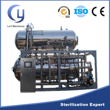 Full automatic ATD series hot water steam spray retort sterilizer machinery