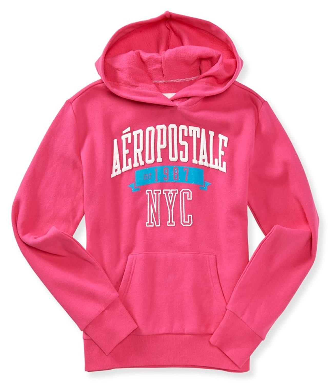 Aeropostale Womens Glitter 97 Hoodie Sweatshirt Fashion Hoodies & Sweatshirts Clothing