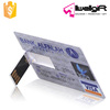 Promotional Credit Card USB Flash Drives Memory Stick