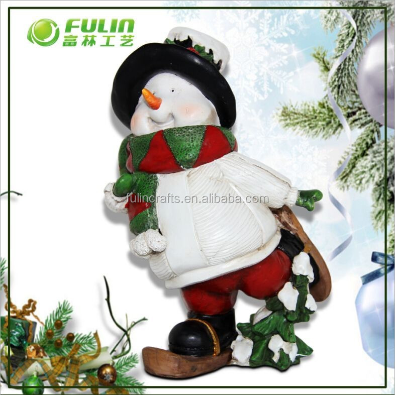 Polyresin Christmas Decorations,Snowman Decorations,Xmas Decorations