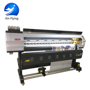 Speed 98m/h K Jet Eco Solvent 10Ft Large Format Digital Fabric Printer/PP Paper Printer machine