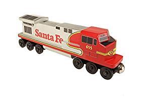 Buy Santa Fe Warbonnet C 44 Diesel Engine Toy Train By Whittle