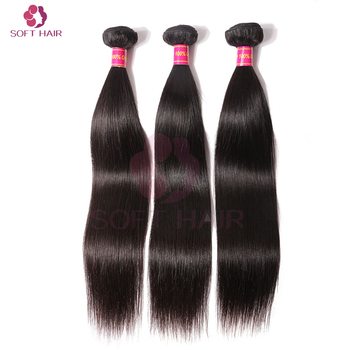 Wholesale cuticle aligned virgin hair quick weave straight human hair weave