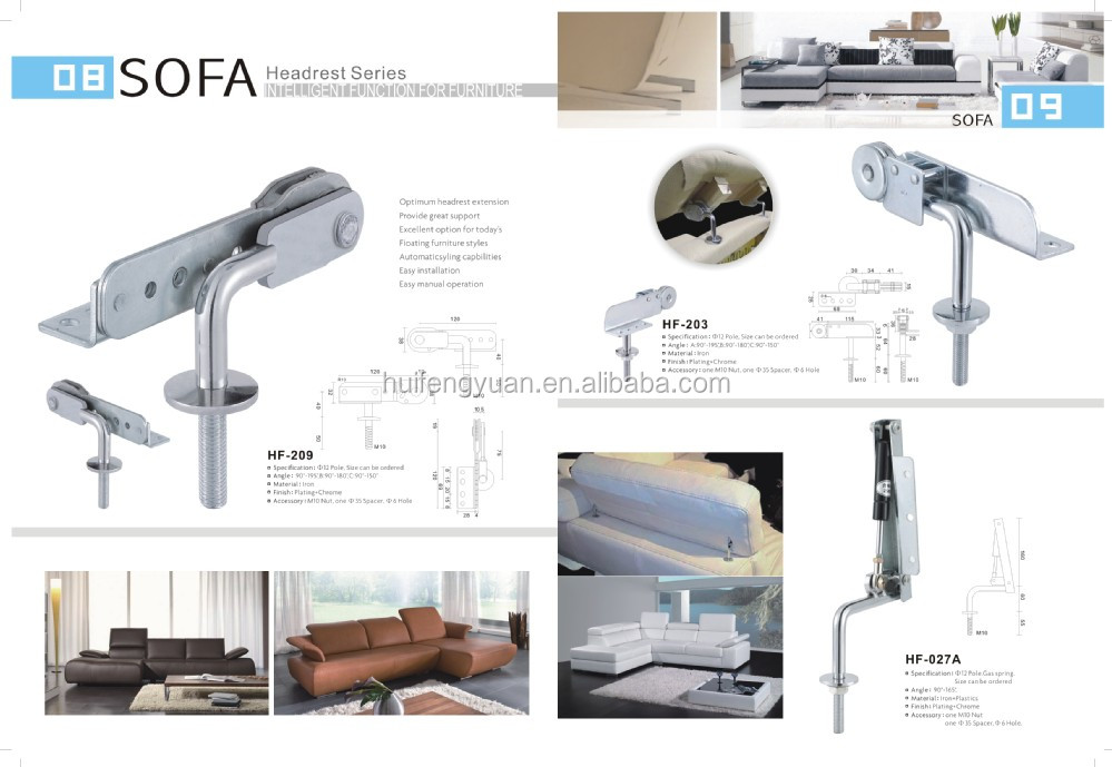 Furniture Spare Parts Function Hardware Of Sofa Bed Hinge Bracket Ings Product