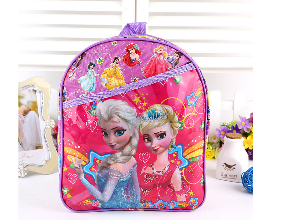 Children princess sofia bags lovely small bags cartoon brand kids sofia backpack Children school bags for girls Student book bag