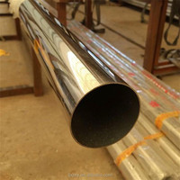 seamless stainless steel pipe/tube Widely used in tableware,cabinet,boiler,auto parts,medical,etc