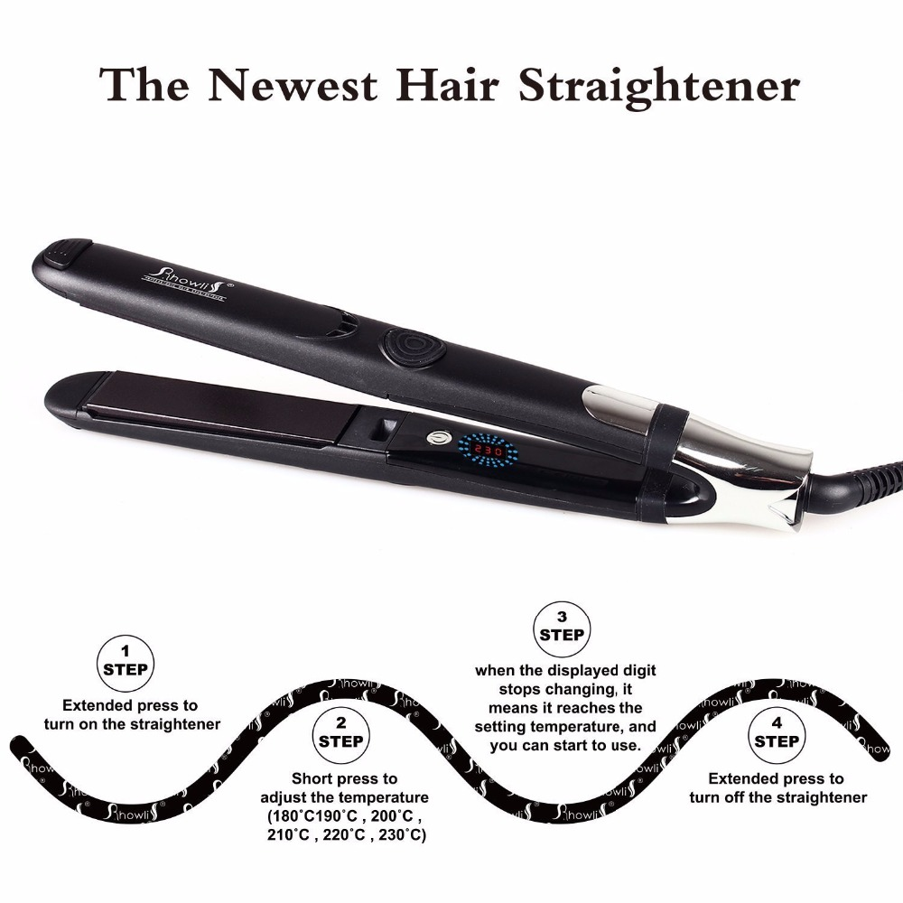 Top Good Quality Showliss Brand 200 Degrees Hair Straightener
