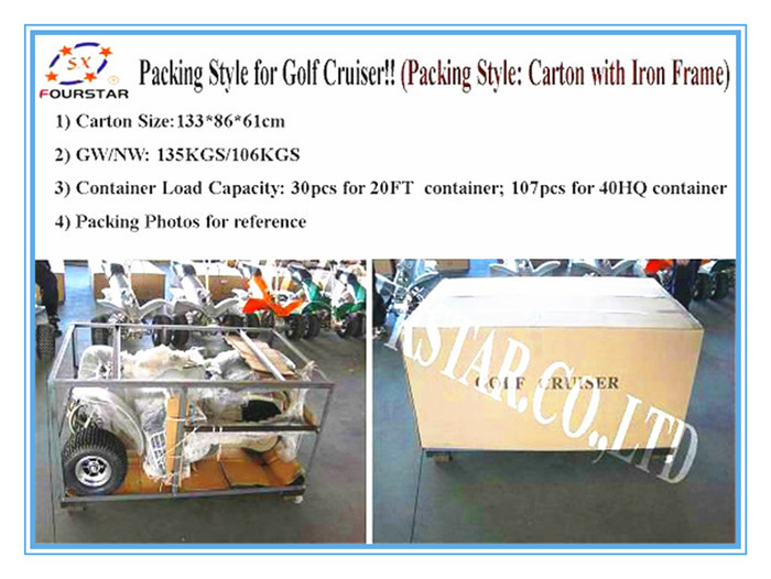factory mini  electric  golf carts with high quality