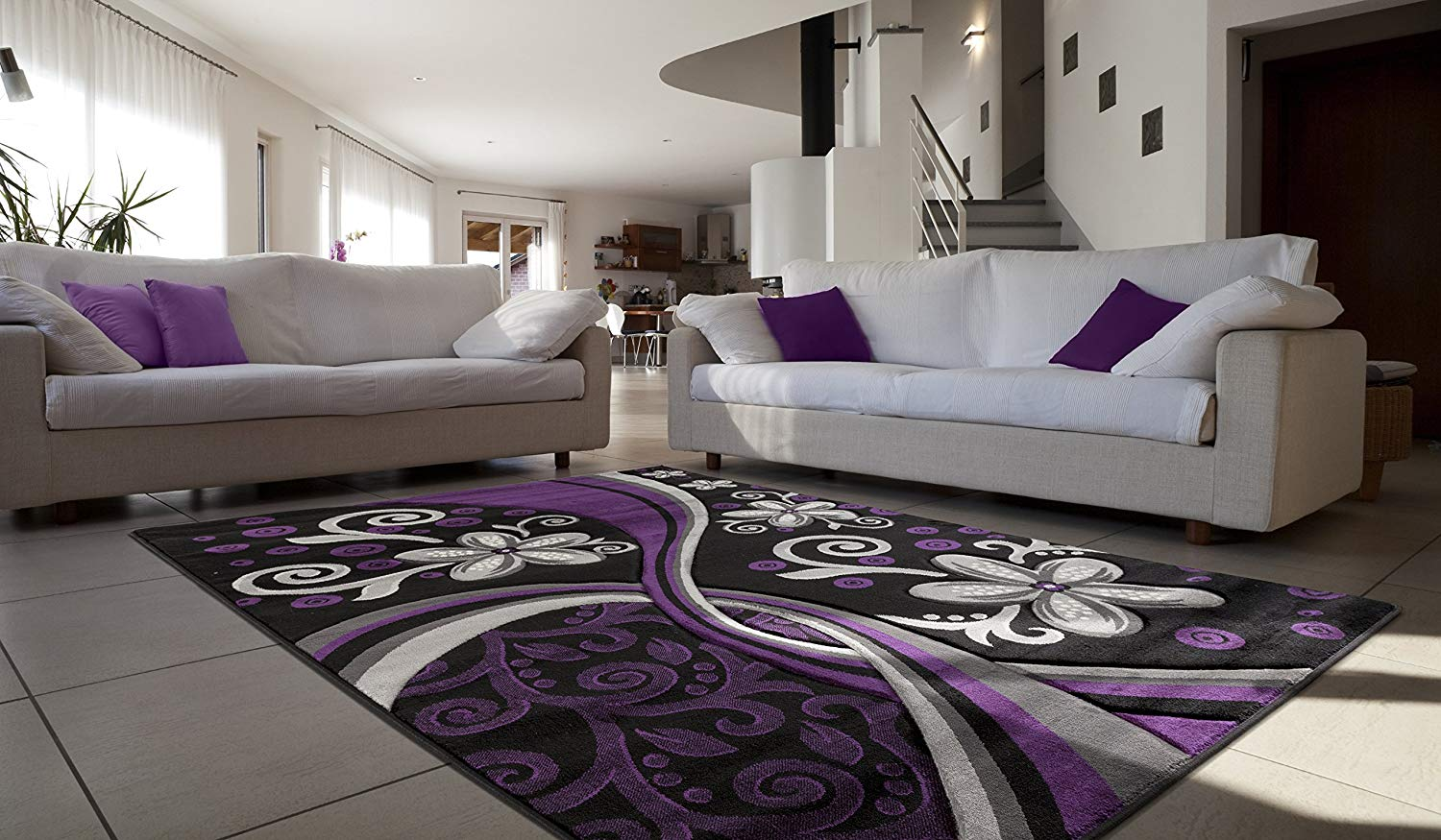 Contemporary Purple Rug Find