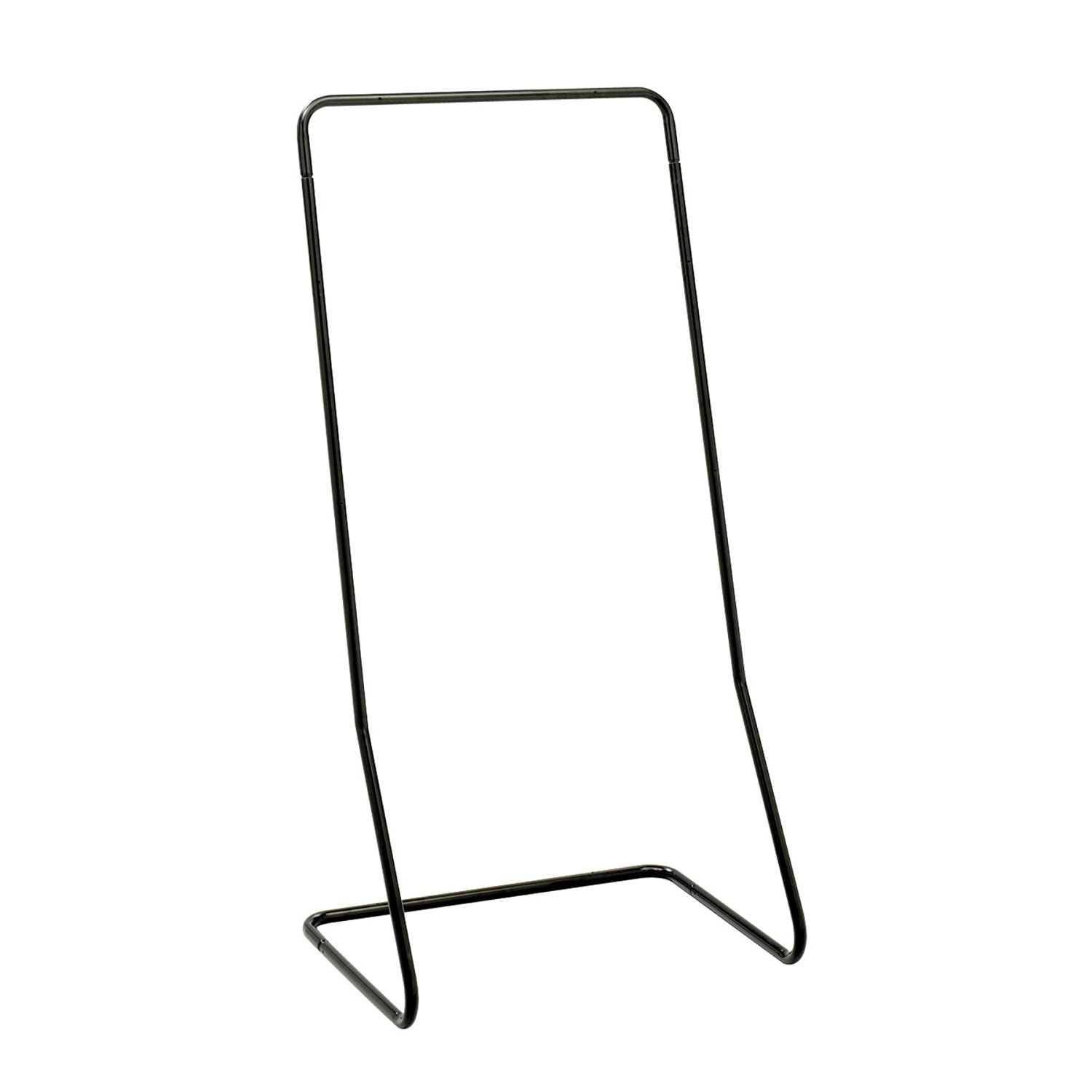Safco Products 5619BL Reveal Magazine Display Floor Stand, Black