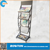 Modern elegant poster stand with brochure holder for school