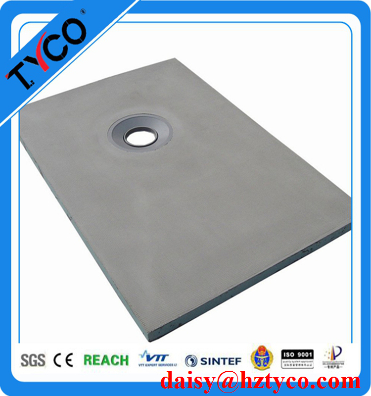"Tile Ready XPS Shower Tray High Density OEM Size 900mm 1800mm 36"" 48"" 60"""