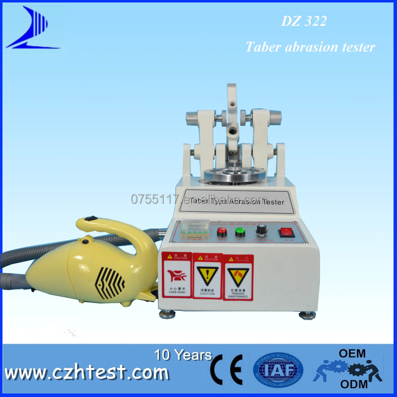 Ink Abrasion tester/Taber Floor Tile Wear Tester/Taber Abrasion Test Machine Manufacturer