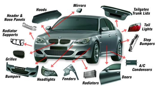 Auto Parts Car Parts Spare Parts (made In Malaysia)
