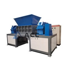 Hoge Output PVC Profielen Shredding Machine/Dubbele As Shredders