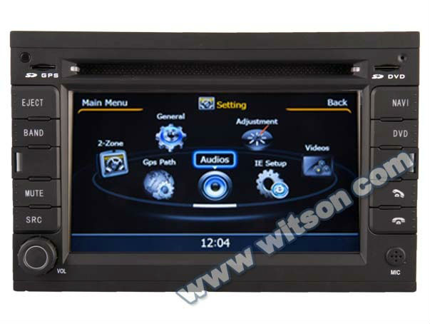 WITSON navigator for PEUGEOT 3008 with Bluetooth Phone Book/Searching