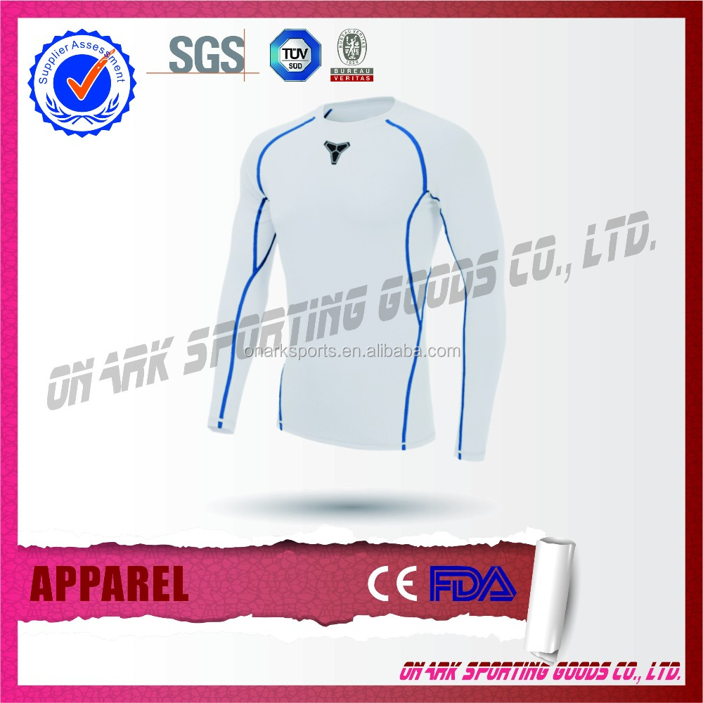 Custom Design Cheap Price Sportting Compression Shirt