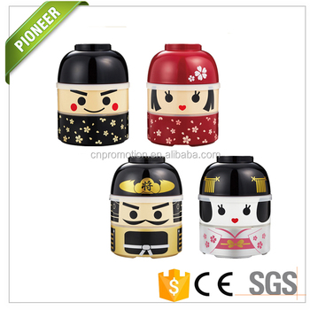 new product japanese style round kokeshi bento lunch box for kids buy kokeshi bento lunch box. Black Bedroom Furniture Sets. Home Design Ideas
