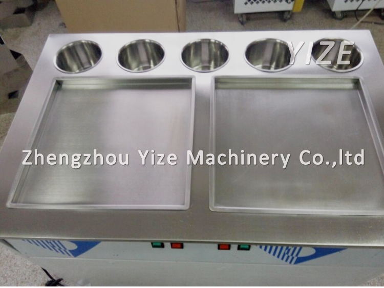 Thailand rolled fried ice cream roll making machine with low price details pictures of thailand fry ice cream machineice cream roll fry machine for dry ice cream making ccuart Image collections
