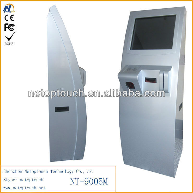 NT9005 touch payment kiosk terminal